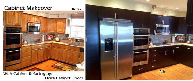 Cabinet Refacing, Kitchen Cabinet Refacing Before After Photos